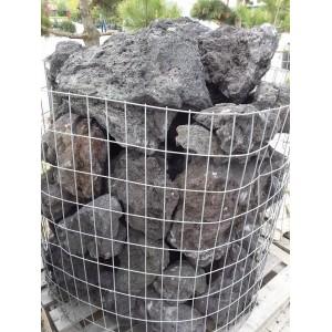 Lava juoda skaldyta 20-40 cm, kg